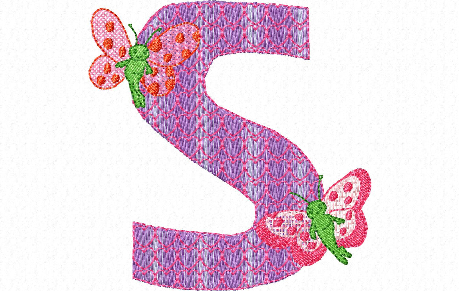 Lilli fee letter s 90 x 92 altavistaventures Choice Image