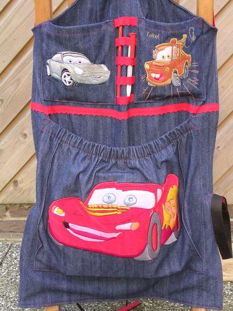 Autostoel tas voor de kids 2